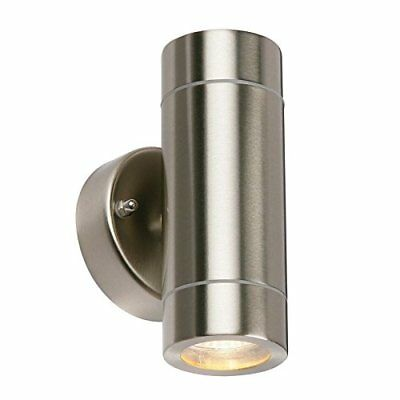 SAXBY 54645 Palin LED Outdoor IP44 3.5W Floor Light in Brushed Stainless Steel