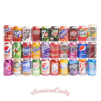 MIX: 6 x alcoholic free BRAND DRINKS USA (30 various multiple choices) (6,06€/l)