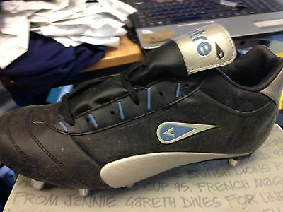 Mitre Rugby Boots In Size  8Uk Low Cut Hardtoe At £22 Leather Upper