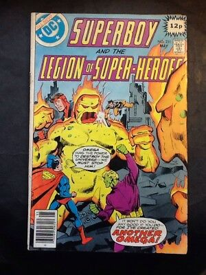 Superboy And Legion Of Superheroes Number 251