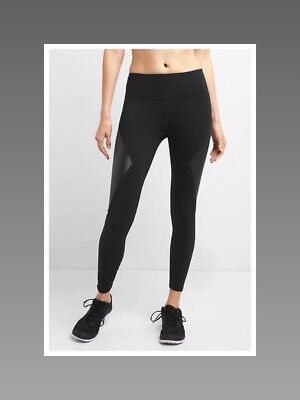 e9efa320f0ba7 GAP GFAST HIGH Rise Blackout leggings MEDIUM 151252 - $30.00 | PicClick