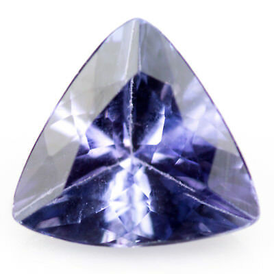 0.65 ct Tanzanite. Eye-clean gem with a great cut and well saturated blue colour
