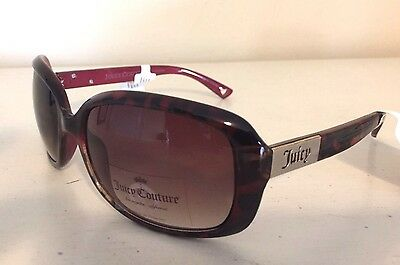 NWT Juicy Couture Womens Sunglasses Eyewear AJCN15006Z Tortoise MSRP $98