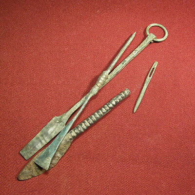Lot of 4 Roman Medical Device / Tools