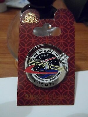 "Mission Space ""We choose to go!"" WDW Ride Disney Trading Slider Pin BRAND NEW!!!"