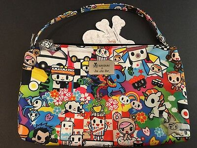 NWT Jujube Tokidoki Sushi Cars SC Be Quick Small Wristlet Bag