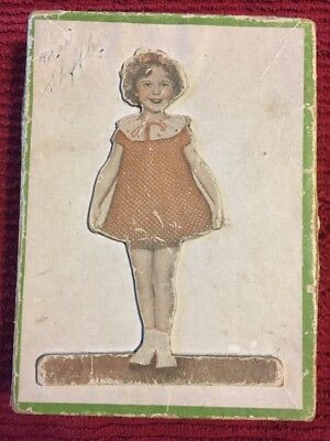 "1936 Shirley Temple Stationery Box ""RARE"" Collectibles Dolls Movie Stars"