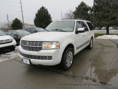 2013 Lincoln Navigator 4WD 4dr 4WD 4dr SUV Automatic Gasoline 8 Cyl WHITE