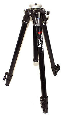 Bogen Manfrotto 3205 (Black 3001) Tripod in EXCELLENT condition - VERY NICE !!!!