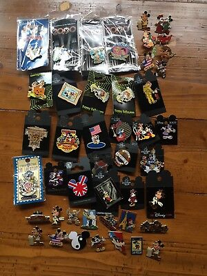 Disney Lot of 45 Collectable Trading Pins