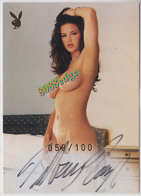 "2006 Playmates In Bed Auto: Tiffany Taylor #59/100 Autograph ""true Blood"" Hbo"