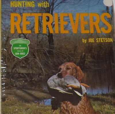 Vintage TFH Dog Book - Hunting with Retrievers - Sealed - Sportsman's Gun Dogs