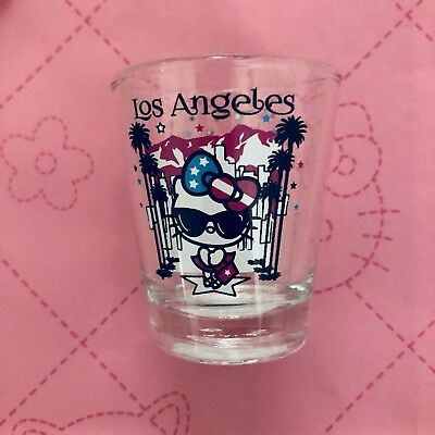 Hello Kitty Shot Glass Los Angeles Exclusive Very Rare Sanrio Collectable