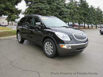 2012 Buick Enclave FWD 4dr Leather FWD 4dr Leather SUV Automatic Gasoline V6 Cyl BLACK