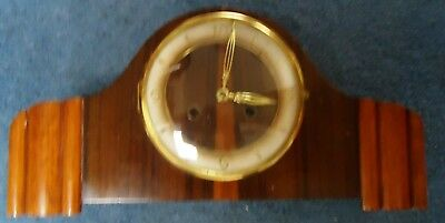 Vintage German Movement Mantle Clock