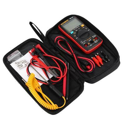 Profi LED Digital Multimeter mit 16 Testsonde+Messleitung+Temperatursensor Set