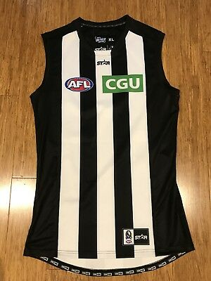 Collingwood Magpies AFL Player Issue Jumper Guernsey 2016