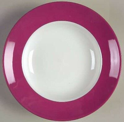 Kate Spade Pink Rutherford Circle Dinner Plate 11 inches NWT - 4 Available