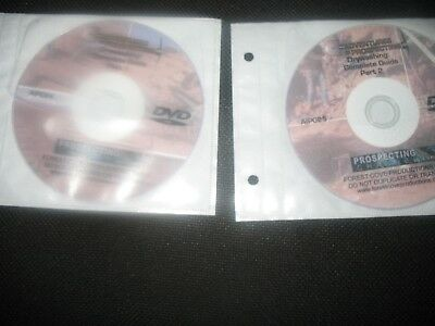 Adventures In Prospecting Dry Washing Complete Guide Dvd 1&2 Gold Metal Detect