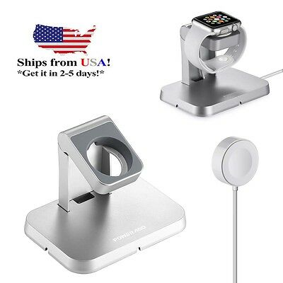 NEW Charging Cable Dock Stand Magnetic charger for Apple watch 38mm 42mm iWatch