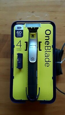 new Philips OneBlade / One Blade - To Trim, Edge and Shave Any Length Of Hair