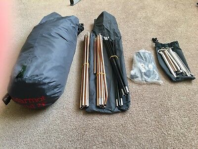 Marmot Grid 2p 4 season Tent & MARMOT 3P Expedition / Hiking Top Spec Tent Used Once Better Than ...