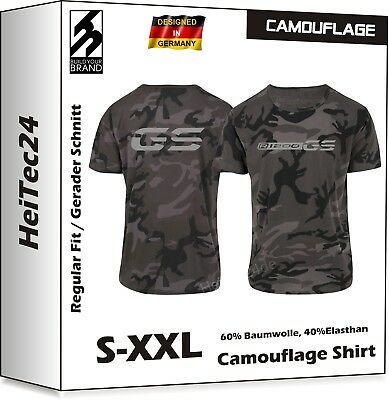 R1200GS LC Camouflage T-Shirt R 1200 GS f. BMW Motorrad Fans Military Look