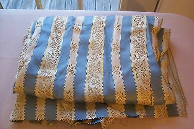 Vtg Tuilleries Damask Drapery Upholstery Pillow Queen Anne Doll FABRIC COHAMA
