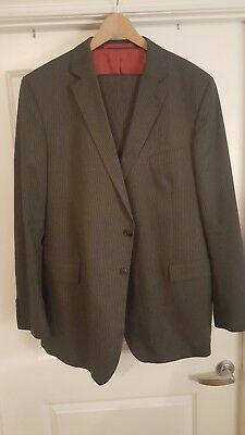 Marks & Spencer M&S 48XL 42W Extra Long Grey Pinstripe Suit