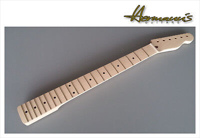 Telecaster One Piece Canadian Maple Neck, 21 Jumbo-Frets, unfinished, unlackiert