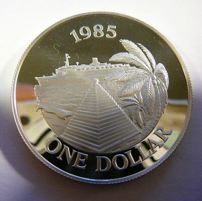 1985 Bermuda Sterling Silver One Dollar Commemorative Proof Coin