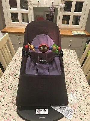 Baby Bjorn bouncer chair (black/grey)