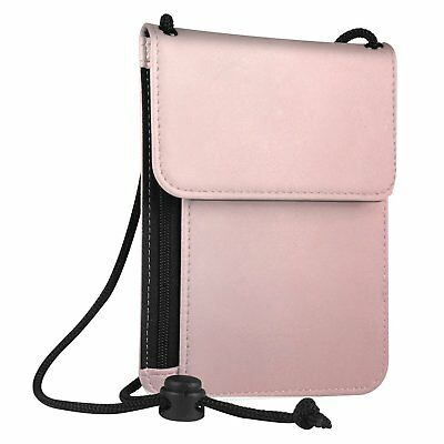 Leather Travel Neck Pouch Holder Passport Id Wallet Security Bag Pocket 2018 US