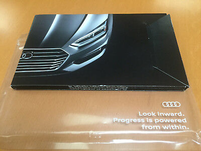 Audi Advertising Brochure Foldout showroom diorama A5 S5