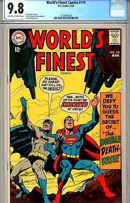 World's Finest #174 CGC graded 9.8 - HIGHEST GRADED - Neal Adams cover