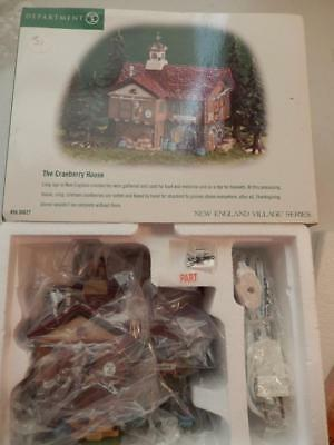 Department 56 New England The Cranberry House #56.56627