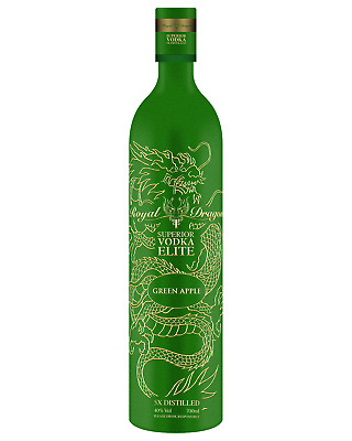 Royal Dragon Vodka Elite Green Apple bottle 700mL