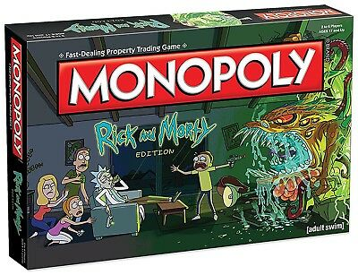 Monopoly: Rick and Morty Collector's Edition board game