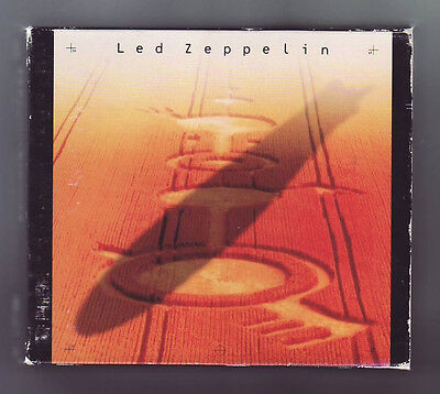 (CD) LED ZEPPELIN - 4 CD Box Set [Remasters] / 1990 / Japan Import / AMCY-170