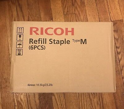 6 of Ricoh Refill Staple Type M, EDP 413026, 30 Cartridges, 150,000 Staples