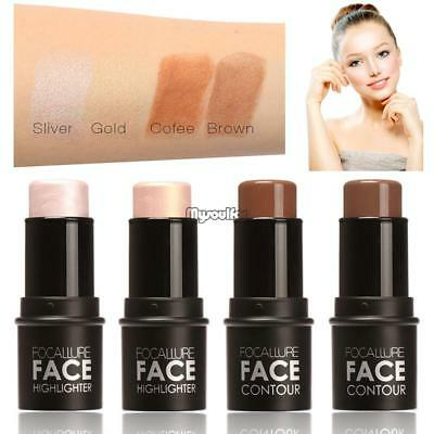 Shimmer Concealer Highlight & Contour Stick Makeup Face Powder Cream Beauty NEW