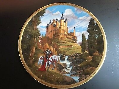 "1990 Hamilton Collection ""Palace of the Moors""  LE Collector Plate~Darrell Sweet"