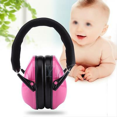 Baby Kids Anti noise Earmuffs Headset Hearing Protection Ear Defenders Hot WD