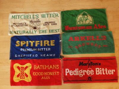 Pick & Choose Collection of British Real Ale Brewery Beer Bar Towels