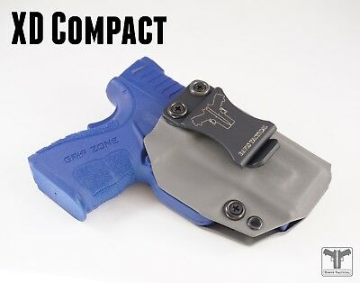 """Fits Springfield XD MOD2 SUB-COMPACT 3"""" 9MM/40Cal Kydex Holster-Davis Tactical"""