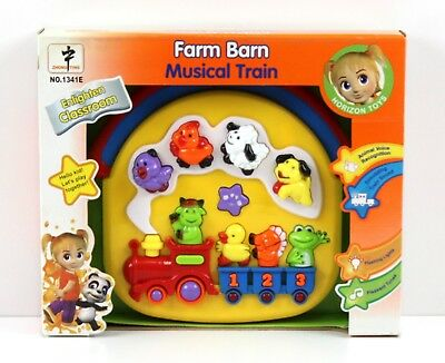 Animal Farm Train Toddler Musical & Sounds Activity Toy Animal Sounds