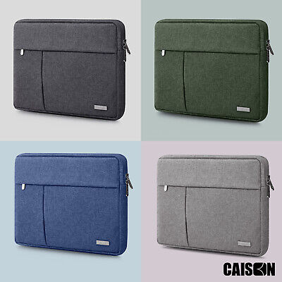 CAISON 11.6 12 12.5 13.3 14 15.6 inch Laptop Sleeve Case Notebook Computer Bag
