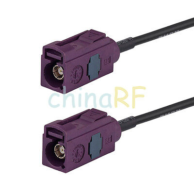 6ft GSM Cellular FAKRA female to jack GSM Antanna Extension Cable COAX RG174 2M