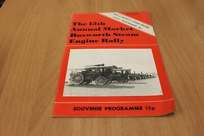 The 13th Annual Market Bosworth Steam Engine Rally Souvenir Programme
