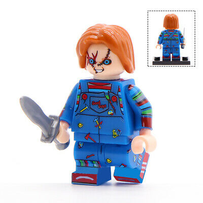 Chucky (Child's Play) -  Horror Movie Lego Moc Minifigure Gift For Kids